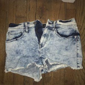 Express Denim jean shorts
